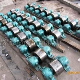 提供自制小型活性炭滚筒干燥机 托轮配件