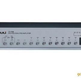 苏里SU-11A公共广播系统八路前置放大器 音量独立调节