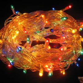 厂家大量热销节日装饰灯串 8米80灯灯串 彩色灯串