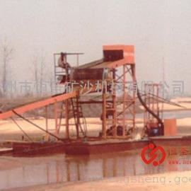 双泵吸双磁选船|WN06型铁砂提取船