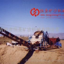 挖沙式铁沙船