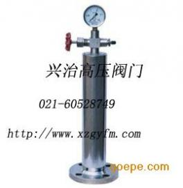 不锈钢水锤吸纳器价格  水锤消除器安装图