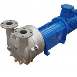 2BV水环真空泵2BV6111SS304卫生泵不锈钢防爆真空泵