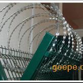 【厂家直销】镀锌浸塑机场刺绳护栏网 建筑网片 安平恺嵘