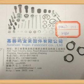 轴用弹性挡圈DIN471 D11*1.0标准批发生产