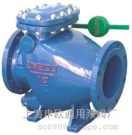 HH44X-10-DN300铸铁微阻缓闭式止回阀
