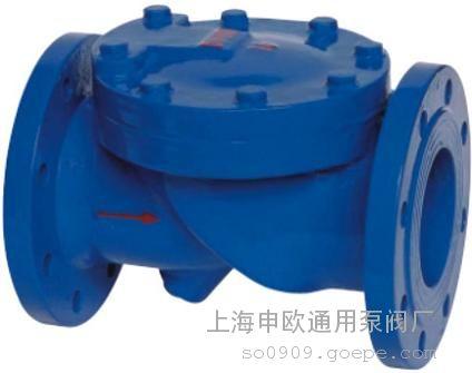 hc44x-10-dn150橡胶瓣止回阀