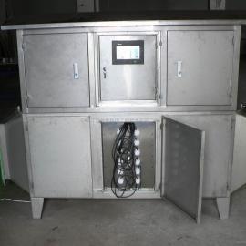 Duke有机硅厂废气处理设备(或光解氧化除臭装置)