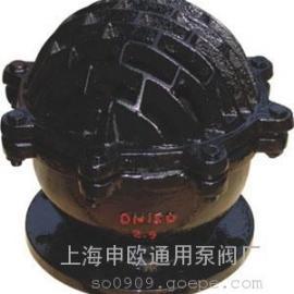 H42X-2.5-DN150铸铁法兰底阀