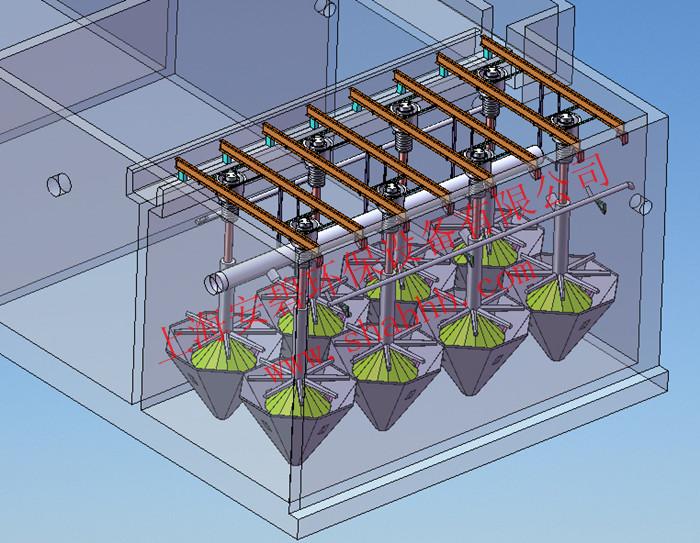 活性砂过滤器组件AS-500-20,活性砂滤池:深度处理污水SS含量