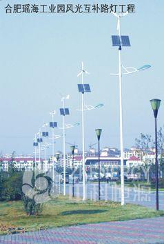 10米风光互补路灯