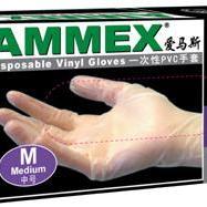 【美国爱马斯】一次性PVC手套(无粉)