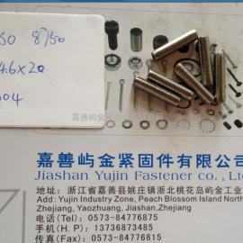厂家直销ISO8750卷制弹性圆柱销D4.6*20 304