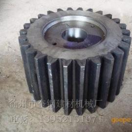 奎钢优质锻钢选矿溢流球磨机小齿轮