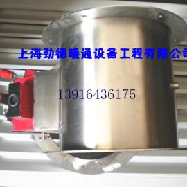 供应不锈钢圆形防火阀、不锈钢风量调节阀 规格200