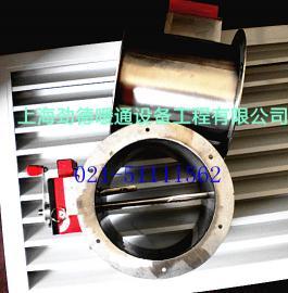 不锈钢304风量调节阀 圆形调节阀  排烟防火阀