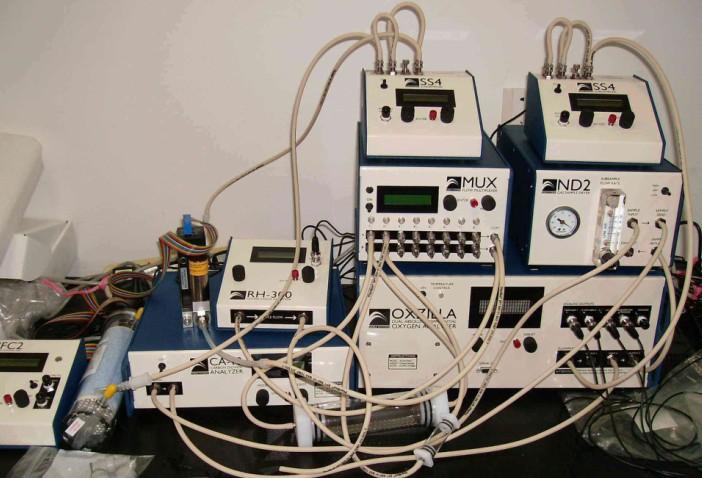 实验室多通道啮齿类动物呼吸测量系统