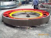 奎钢石膏管式球磨机大齿轮