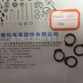 DIN471轴用弹性挡圈卡簧D13*1.0价格现货浙江厂家