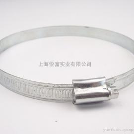 上海悦富供应暖通设备不锈钢风口止回阀配件喉箍\抱箍卡箍