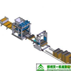现货【自动砌块制砖机】自动制砖机 马路花砖机―豫联
