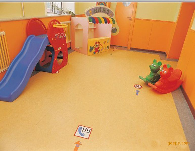 幼儿园专用pvc胶地板 幼儿园pvc胶地板