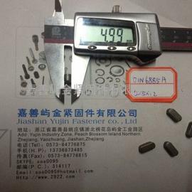 45号钢DIN6885A双圆头5*5*12嘉善屿金供应