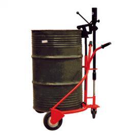 手动液压油桶搬运车