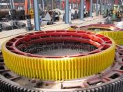 碳酸钡焙烧窑大齿轮 滚圈