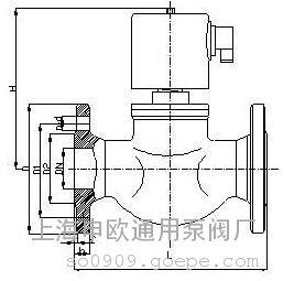 ZBSF-1.6P-F-DN50全不锈钢法兰电磁阀
