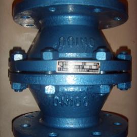 GYW-1-DN80阻爆燃铸钢管道阻火器