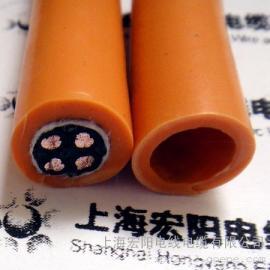 柔性拖链电缆:特高柔性拖链电缆