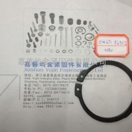 屿金厂家现货供应DIN471轴用弹性挡圈卡簧规格63*2