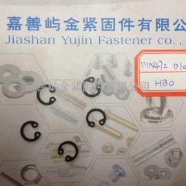 DIN472孔用弹性挡圈卡簧规格D10*1现货厂家