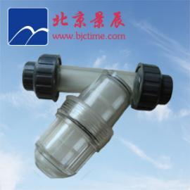 PVC过滤器 Φ60 DN50 透明PVC-Y型过滤器