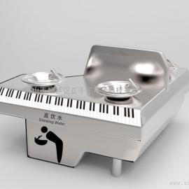 钢琴形饮水台