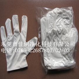 珠海超细纤维无尘布手套/广州超细无尘擦拭手套