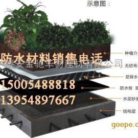 车库顶板绿化排水板