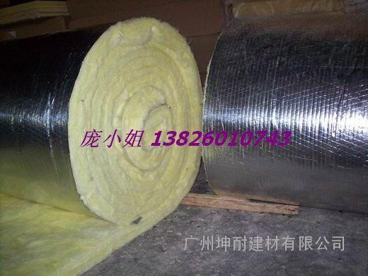 钢结构厂房隔热棉 带单面铝箔 保温棉 隔热玻璃棉板