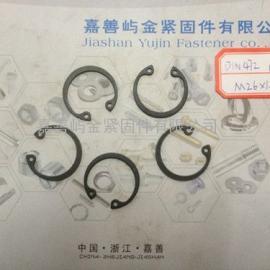 嘉善挡圈DIN472孔用弹性卡簧价格规格D26*1.2现货