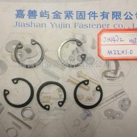 嘉善挡圈DIN472孔用弹性挡圈价格规格D22*1.0现货