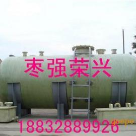 枣强荣兴高强度1-100立玻璃钢卧式储罐化工储罐