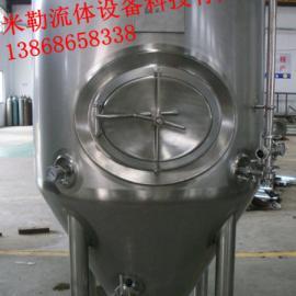 锥形啤酒罐,304不锈钢锥形啤酒发酵罐,啤酒发酵罐生产厂家