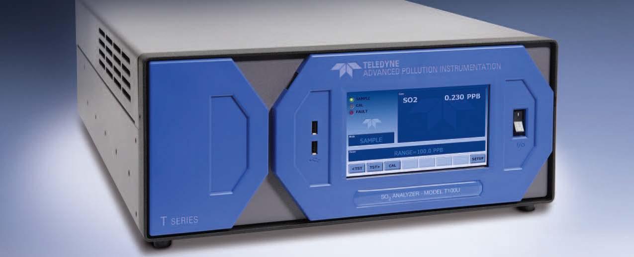 美国API T400 紫外吸收法臭氧分析仪