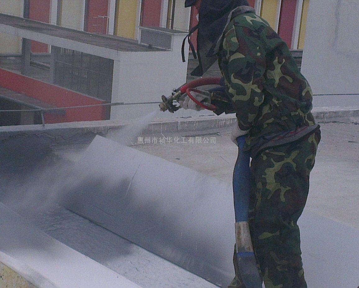 广东惠州聚脲防水涂料聚脲喷涂施工