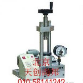 DY-20电动粉末压片机|电动压片机工作原理