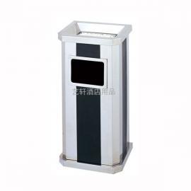 河南室内不锈钢垃圾桶批发供应商,信阳楼层走廊烟灰桶定做价格