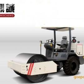 济宁鼎诚3.5吨激振力超自重3.5吨大钢轮双胶轮更安全实用