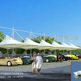 停车棚、膜结构汽车棚、自行车棚
