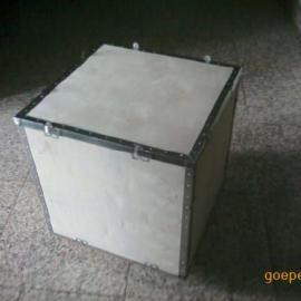 供应济南免检出口钢带包装箱济南专业供应生产
